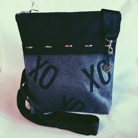 Love: XOXO Graffiti Cross Body Bag