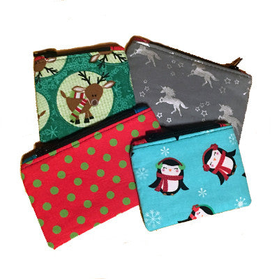 Critter Change Purse (Holiday)