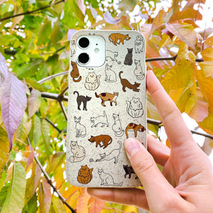 London Fog Kitty Cats iPhone 13 Pro Max Case