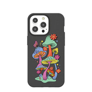 Black Magical Forest iPhone 13 Pro Case