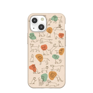 Seashell Puppers iPhone 13 Mini Case