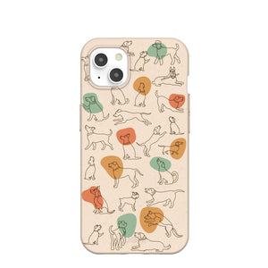 Seashell Puppers iPhone 13 Case