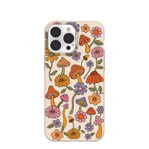 Seashell Shrooms and Blooms iPhone 13 Pro Max Case