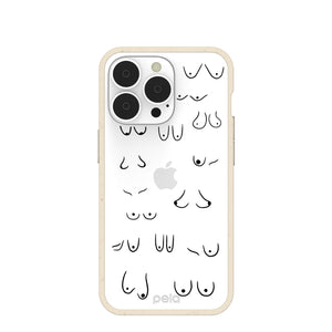 Clear Sister iPhone 13 Pro Case With London Fog Ridge