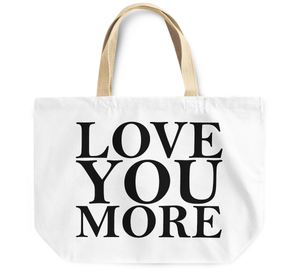 Tote Bag Love you more By Loud Universe