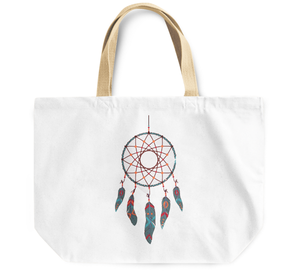 Tote Bag Dream Catcher feather tribal indian theme By Loud Universe