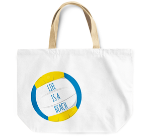 Tote Bag Life is a beach summer beach bad By Loud Universe