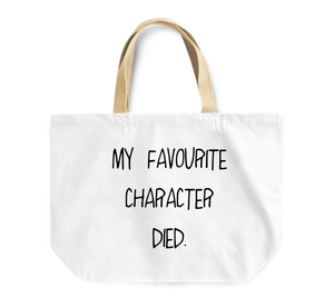 Tote Bag My Favourite Character Bed Sleepy Head Reusable Shopping Bag By Loud Universe