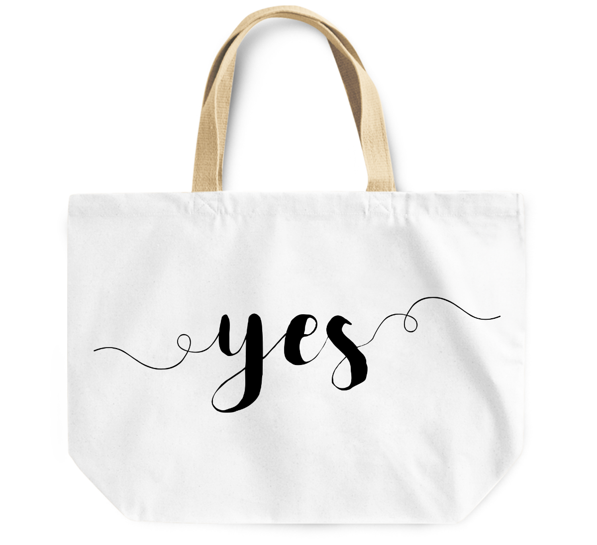Tote Bag Yes By Loud Universe