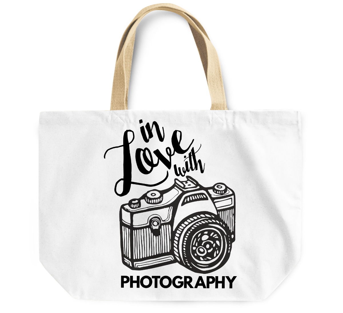 Tote Bag In love with Photography camera By Loud Universe