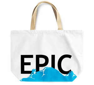 Tote Bag Epic water waves By Loud Universe