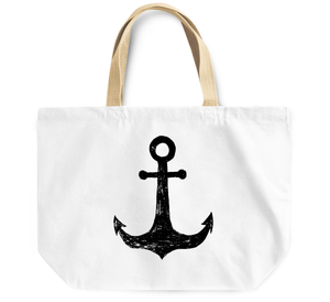 Tote Bag Nautical anchor ship naval anchor By Loud Universe