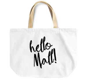 Tote Bag Hello Mall By Loud Universe