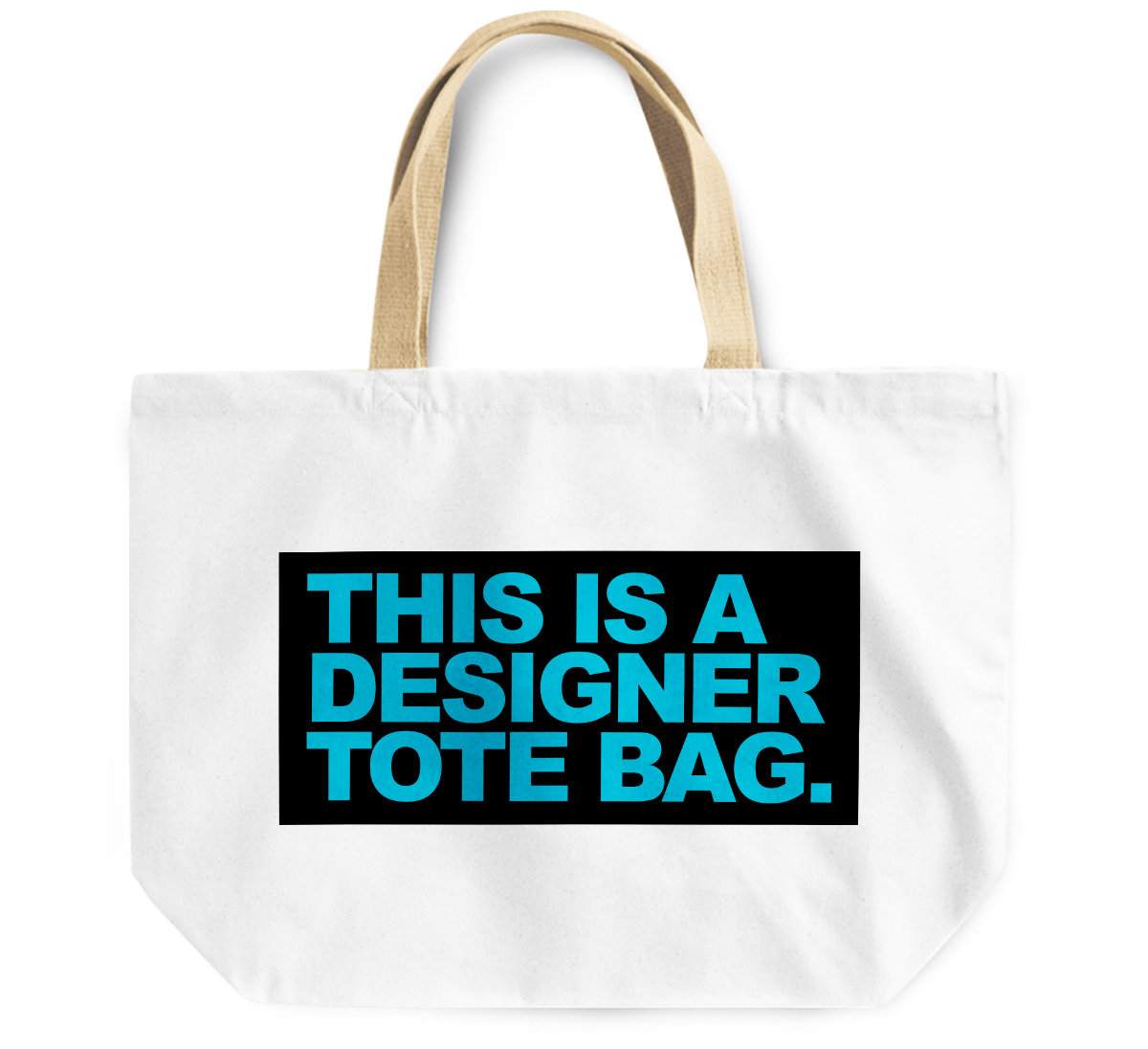 Tote Bag This is a Designer By Loud Universe