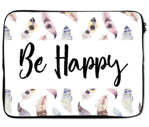 Laptops Tablet Sleeves be Happy Feather Premium Quality Neoprene Laptop Protection