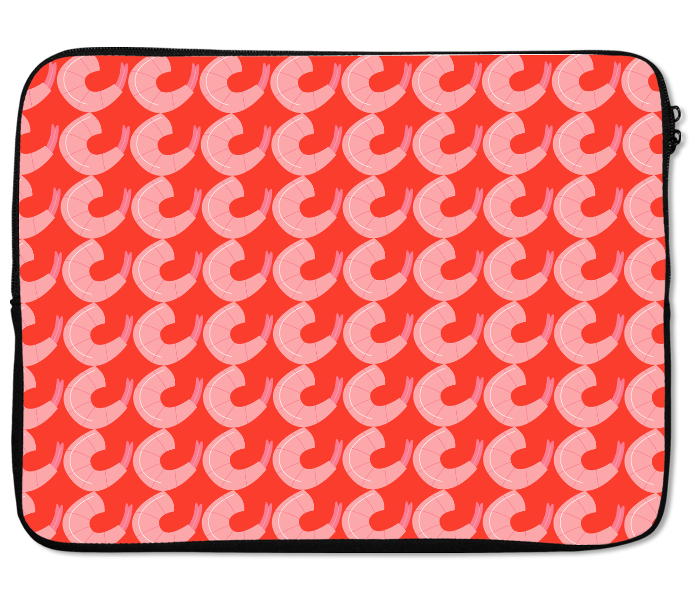 Laptops Tablet Sleeves Shrimp Pattern Premium Quality Neoprene Laptop Protection
