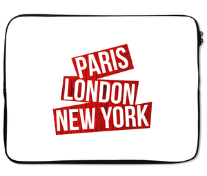 Laptops Tablet Sleeves Paris London New York Premium Quality Neoprene Laptop Protection