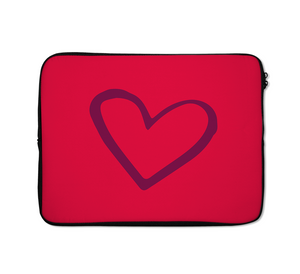 Laptop Sleeves Heart Love Couples