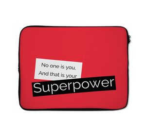 Superpower Laptop Sleeves Motivation Laptop Sleeves 13 inch