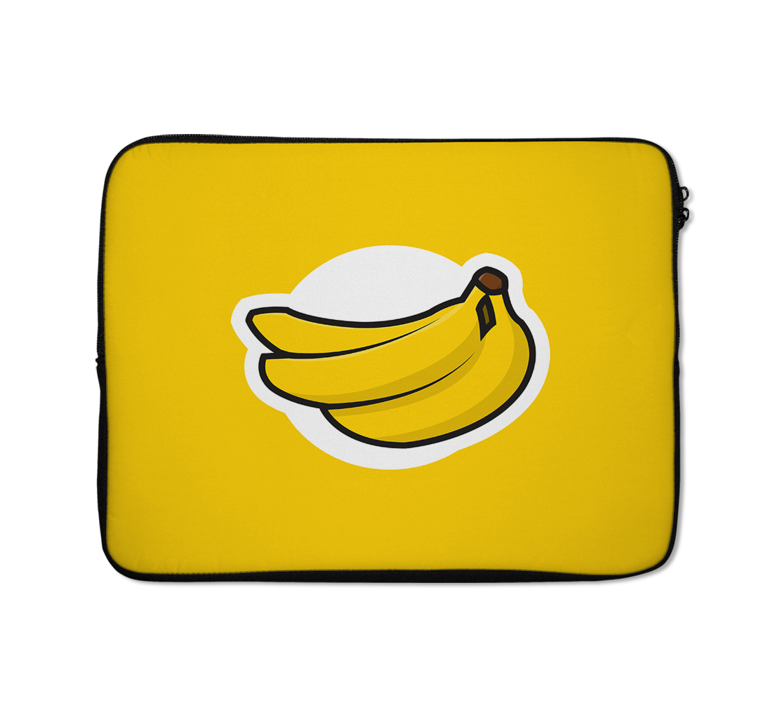 Banana Logo Laptop Sleeves Banana Laptop Sleeves 13 inch
