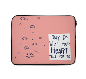 Heart Laptop Sleeves Heart Tells You Laptop Sleeves Teen Laptop Sleeves 13 inch