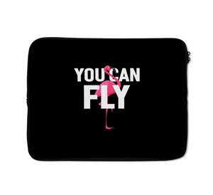 You Can Fly Laptop Sleeves Motivation Animal Laptop Sleeves 13 inch