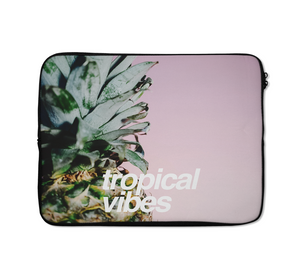 Tropical Vibes Laptop Sleeves Miami Laptop Sleeves Pineapple Laptop Sleeves 13 inch