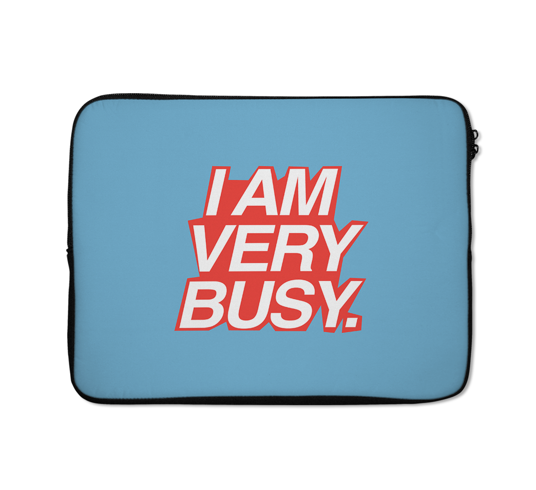 i Am Busy Laptop Sleeves Trendy Teen Laptop Sleeves Minimalist Laptop Sleeves 13 inch
