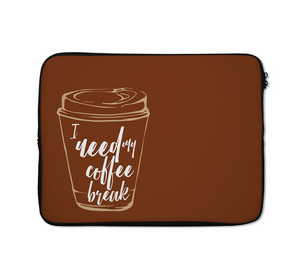 Coffee Laptop Sleeves Coffee Break Laptop Sleeves 13 inch
