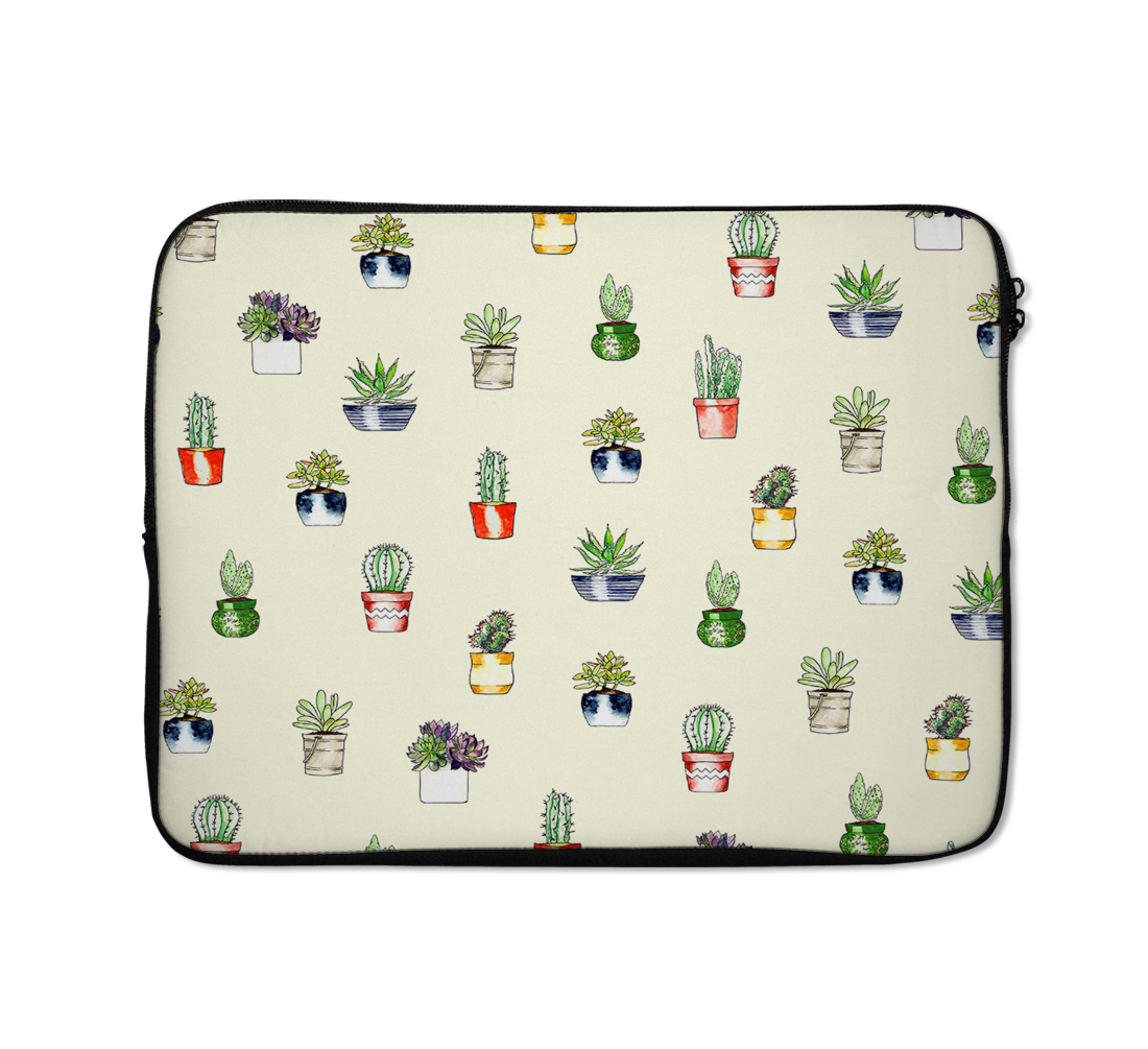 Trendy Laptop Sleeves Cactus Laptop Sleeves Cactus Print Laptop Sleeves 13 inch