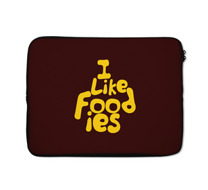 i Like Food Laptop Sleeves Foodie Laptop Sleeves 13 inch