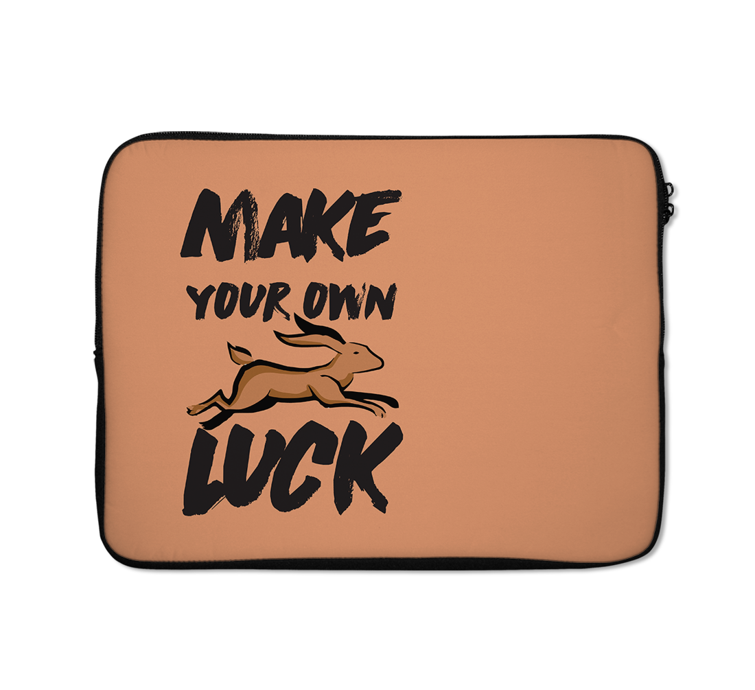 Make You Luck Laptop Sleeves Animal Laptop Sleeves 13 inch