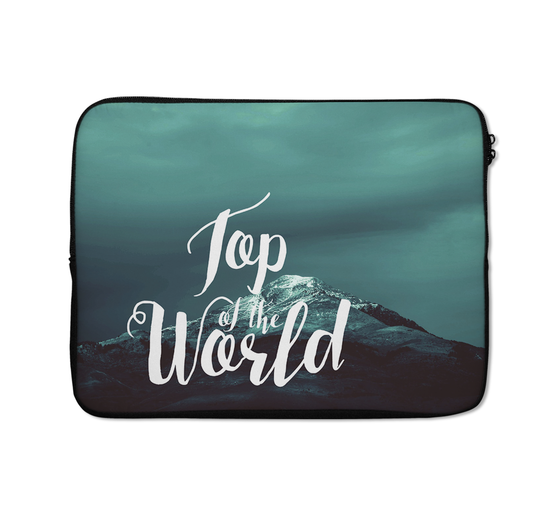 Top Of The World Laptop Sleeves Mountain Laptop Sleeves Winters Laptop Sleeves 13 inch