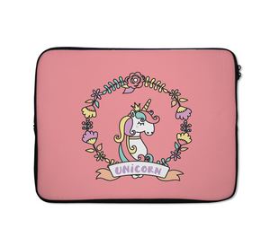 Unicorn Laptop Sleeves Pink Border Laptop Sleeves Pink Laptop Sleeves 13 inch