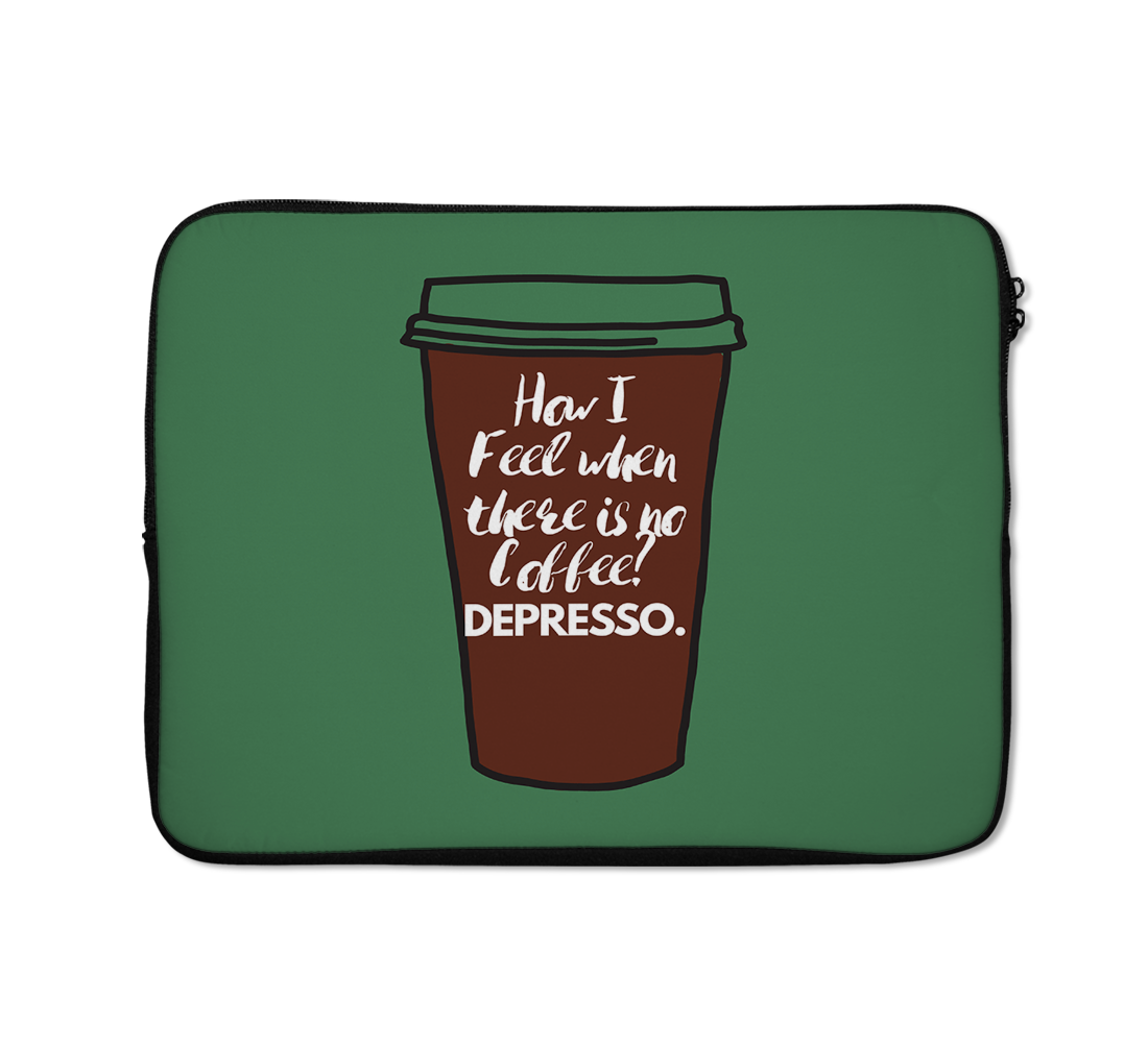 Expresso Laptop Sleeves Coffee Laptop Sleeves 13 inch