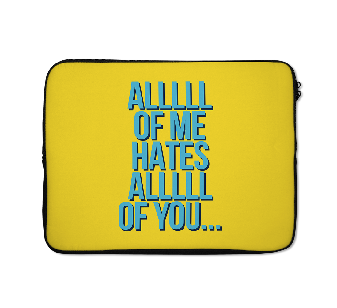 All Of Me Laptop Sleeves Music Laptop Sleeves Lyrics Laptop Sleeves 13 inch