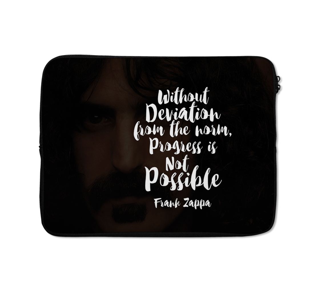 Frank Zappa Laptop Sleeves Without Deviation Laptop Sleeves 13 inch