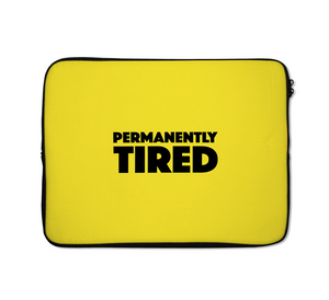 Tired Laptop Sleeves Funny Laptop Sleeves 13 inch