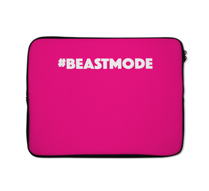 Beast Mode Laptop Sleeves Pink Laptop Sleeves Gym Girl Laptop Sleeves 13 inch