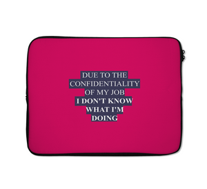 My Job Laptop Sleeves Office Laptop Sleeves Adult Laptop Sleeves Typography Laptop Sleeves 13 inch