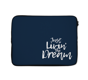 Dream Laptop Sleeves Typography Laptop Sleeves Living Laptop Sleeves Motivational Laptop Sleeves 13 inch