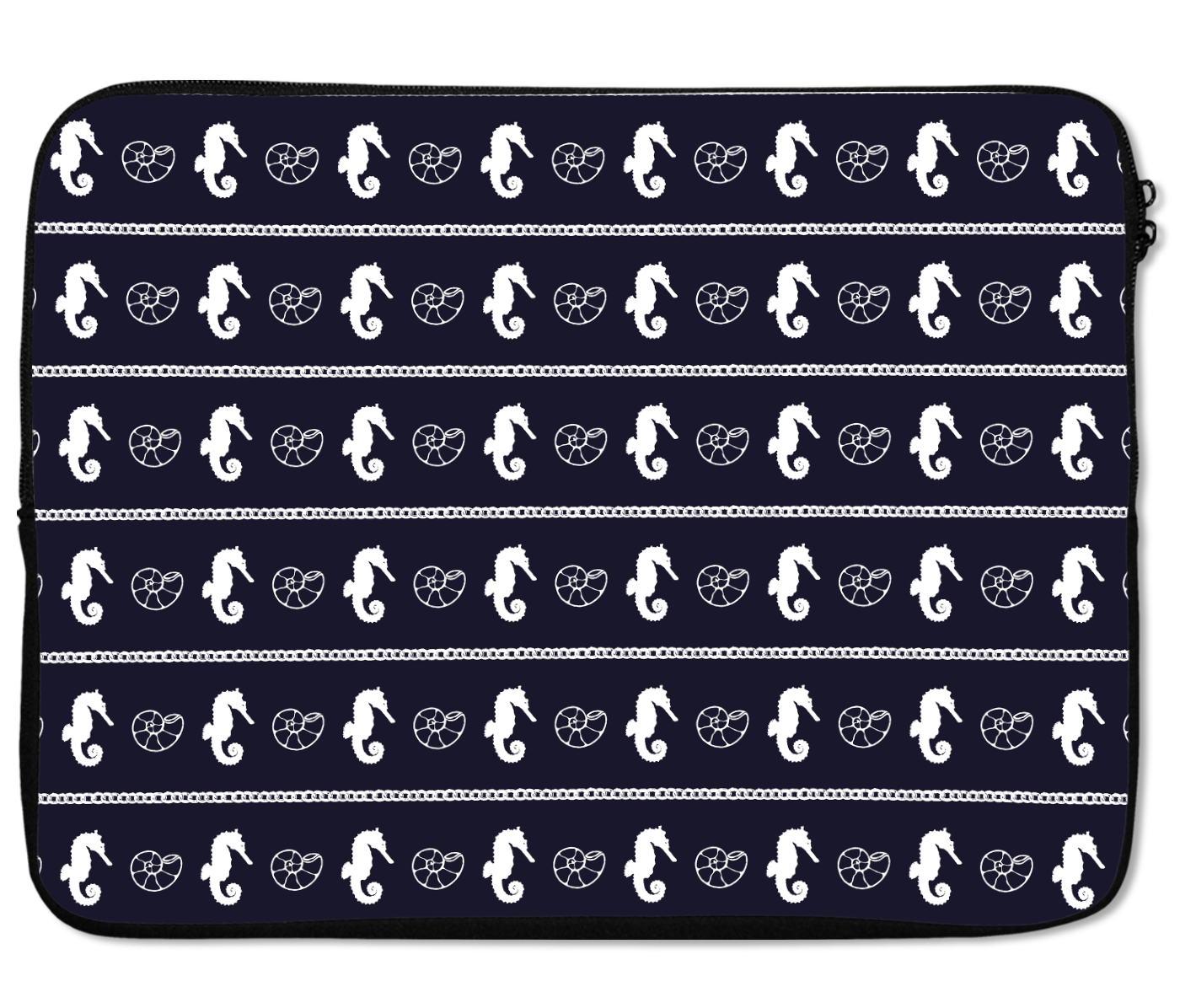 Laptops Tablet Sleeves Sea Horse Pattern Shell Premium Quality Neoprene Laptop Protection