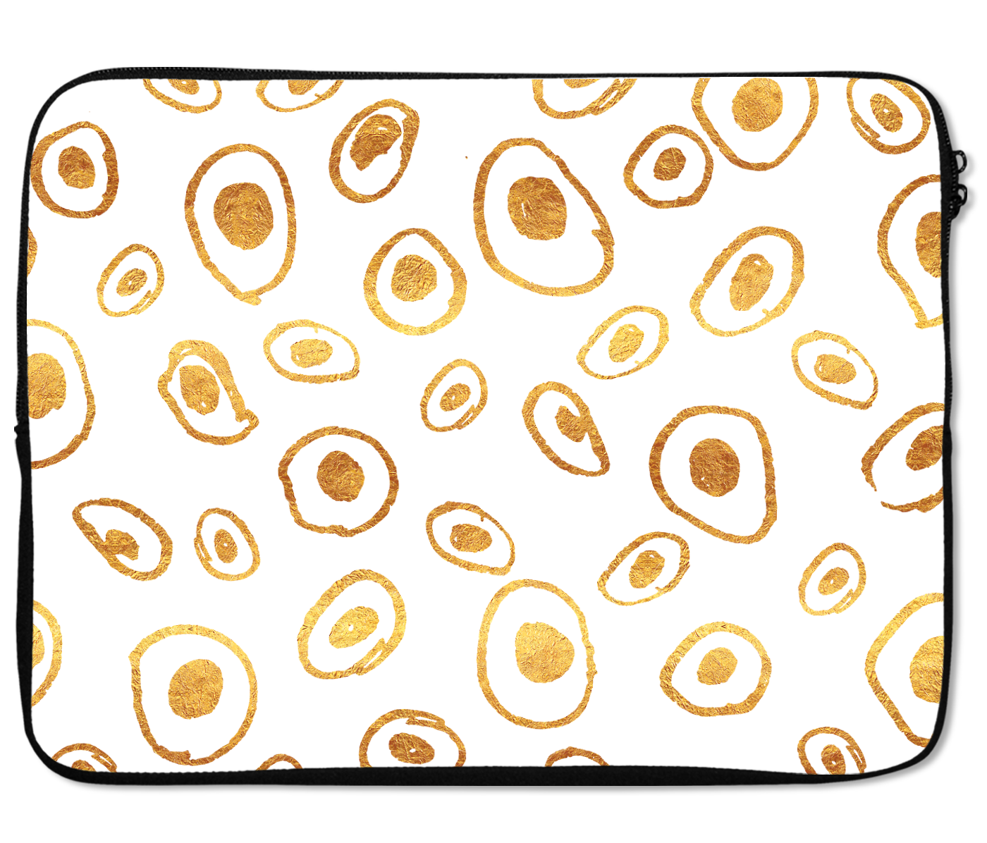Laptops Tablet Sleeves Golden Eggs Pattern Premium Quality Neoprene Laptop Protection