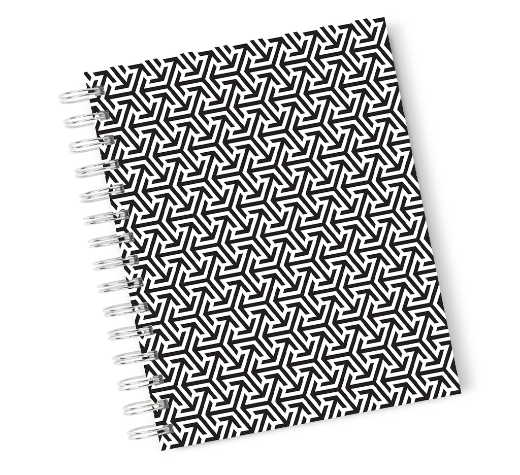 Loud Unviverse Hardcover Notebook Rebel Teen Typography Spiral Notebook with High Quality Bright White Paper A5 Size