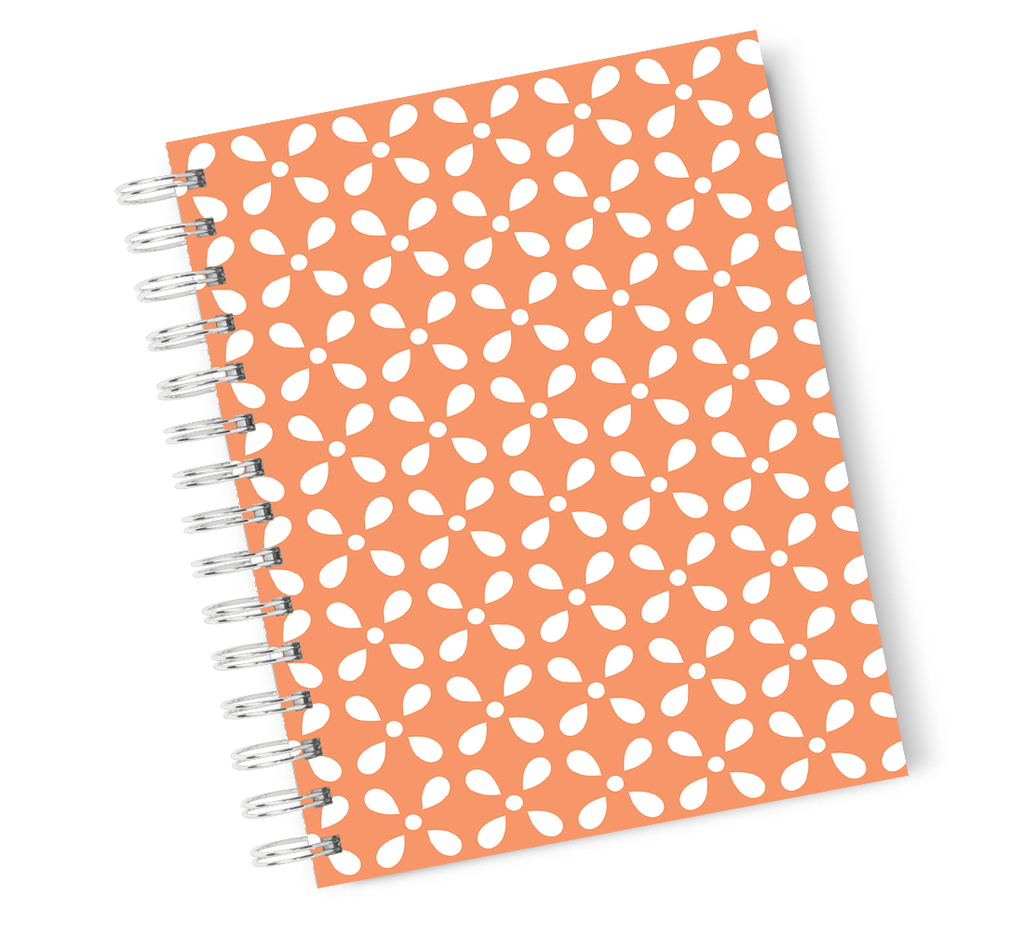 A4 Hardcover Notebook Icecream Poop Emoji Spiral Notebook with High Quality Bright White Paper