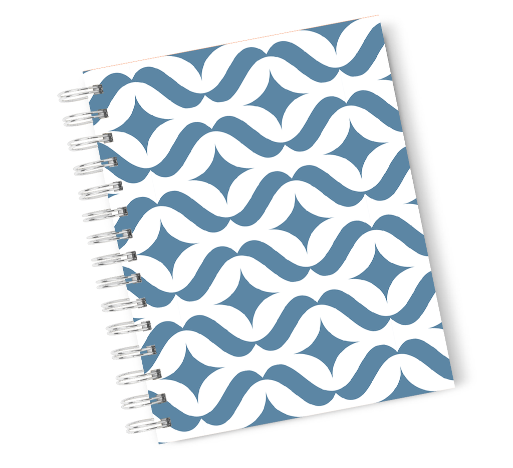 A4 Hardcover Notebook Tropical Vibes Miami Pineapple Spiral Notebook with High Quality Bright White Paper
