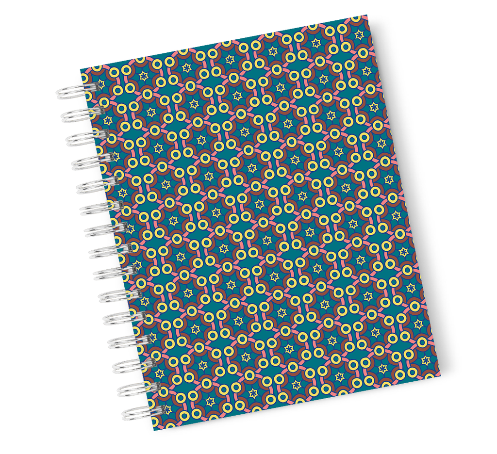 A4 Hardcover Notebook Love All You Need Teen Spiral Notebook with High Quality Bright White Paper