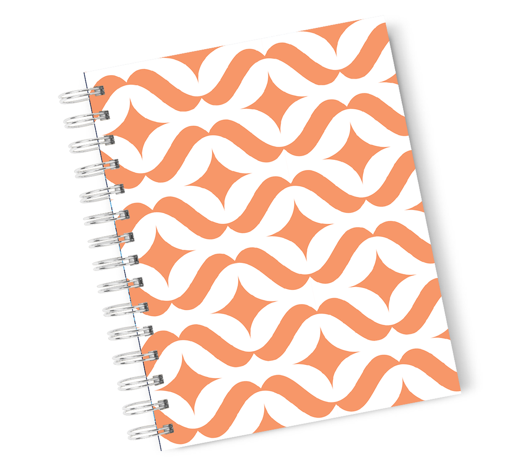 Loud Unviverse Hardcover Notebook Jungle Pattern Leafy Leaf Spiral Notebook with High Quality Bright White Paper A5 Size