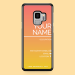 Load image into Gallery viewer, Social Profile Custom Phone Case