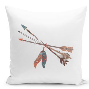 White-Throw-Pillow-Awwor-Native-Indian-Feather-Style---Pure-White-Printed-16-x-16-inch-Square-Home-Decor-Couch-Pillow-